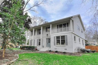 Charlotte Single Family Home Under Contract-Show: 6612 Summerlin Place