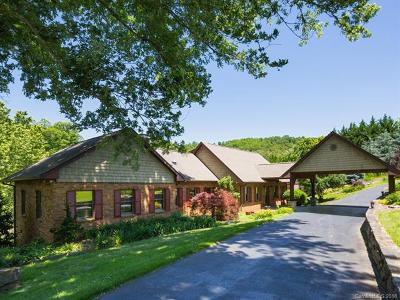 Fairview Single Family Home For Sale: 1236 Upper Brush Creek Road
