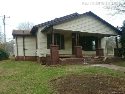 Iredell County Single Family Home For Sale: 534 Logan Street