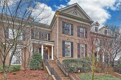 Myers Park Condo/Townhouse For Sale: 527 Queens Road