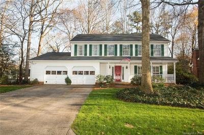 Matthews Single Family Home Under Contract-Show: 2512 Crescent Knoll Drive