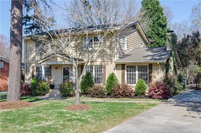 Charlotte Single Family Home For Sale: 1707 Redcoat Drive