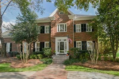 Charlotte Single Family Home For Sale: 11917 Pine Valley Club Drive