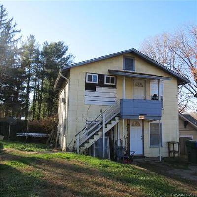 Asheville Multi Family Home For Sale: 72 Hanover Street