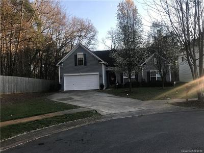 Charlotte Single Family Home For Sale: 6307 Sackett Way