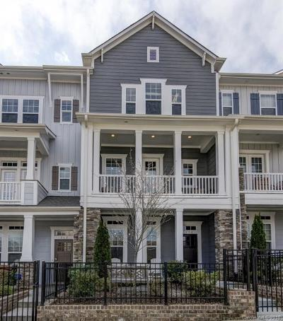Charlotte Condo/Townhouse For Sale: 258 Iverson Way