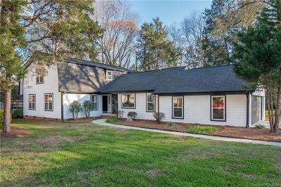 Charlotte Single Family Home Under Contract-Show: 4130 Rotunda Road