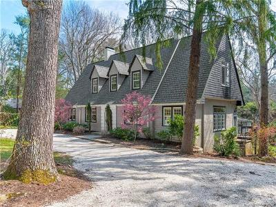 Asheville NC Single Family Home For Sale: $959,000