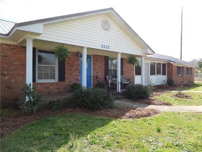 Single Family Home For Sale: 4235 Great Falls Highway #4