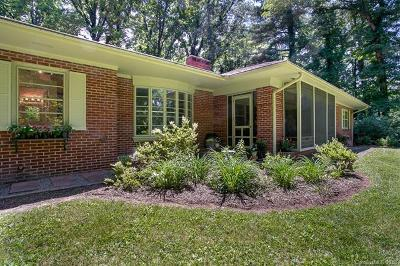 Asheville Single Family Home For Sale: 1 Hilltop Road