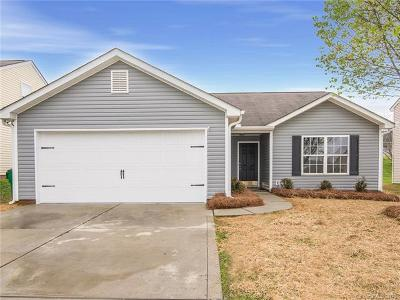 Charlotte NC Single Family Home For Sale: $159,900