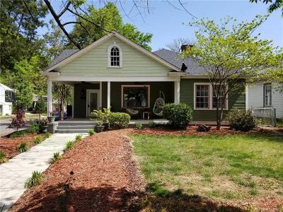 Charlotte Single Family Home For Sale: 340 West Boulevard