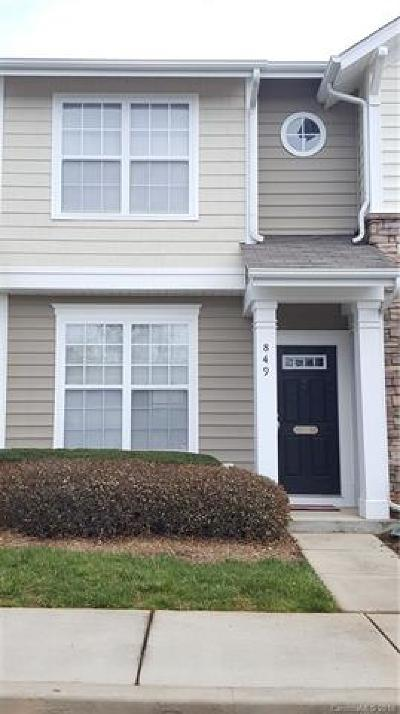Rock Hill Single Family Home For Sale: 849 Lacebark Drive #218