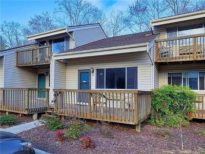 Bat Cave, Black Mountain, Chimney Rock, Columbus, Gerton, Lake Lure, Mill Spring, Rutherfordton, Saluda, Tryon, Union Mills Condo/Townhouse For Sale: 118 West Lake Drive N #202