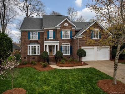 Charlotte Single Family Home For Sale: 9021 Cardinal Ridge Court