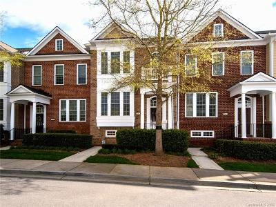 Fort Mill Condo/Townhouse For Sale: 566 Sixth Baxter Crossing