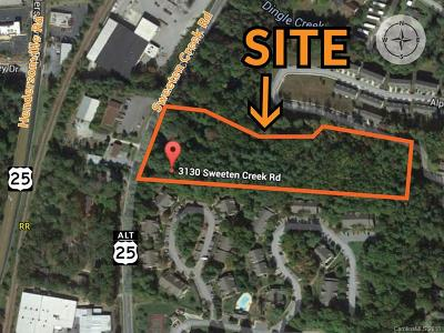 Buncombe County Residential Lots & Land For Sale: 3130 Sweeten Creek Road