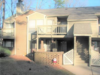 Charlotte NC Condo/Townhouse Sold: $105,000