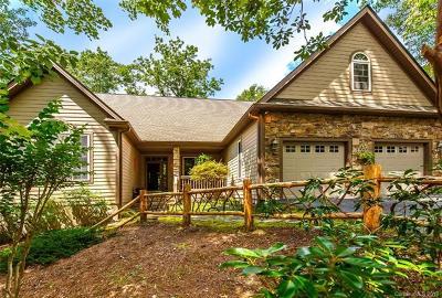 Brevard Single Family Home For Sale: 98 Tludatsi Court