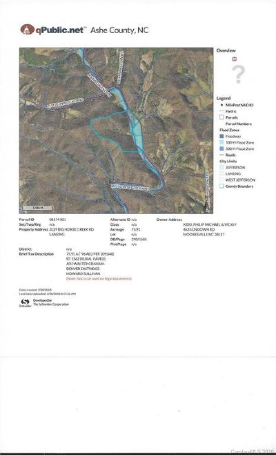 Ashe County Residential Lots & Land For Sale: 3129 South Big Horse Creek Road