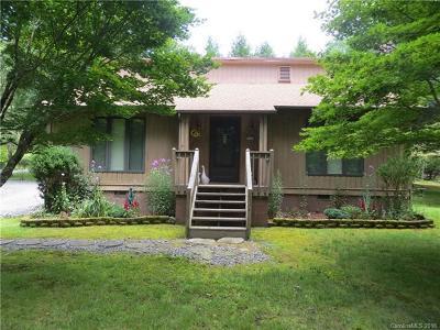 Brevard Single Family Home For Sale: 22 Dalonigei Court #L50U08