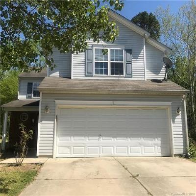 Concord NC Single Family Home For Sale: $149,900