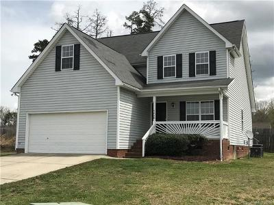 Kannapolis Single Family Home For Sale: 5204 Halverson Court