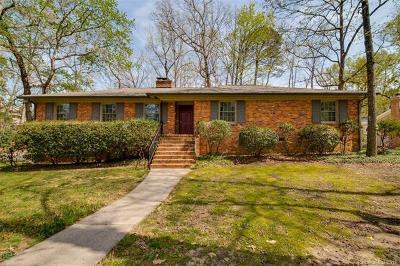Single Family Home For Sale: 5601 Robinhood Road