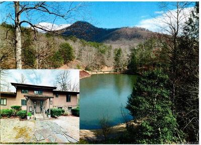 Lake Lure NC Single Family Home For Sale: $595,000