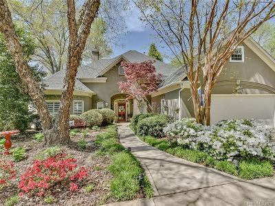 Single Family Home For Sale: 7201 Charter Brook Drive