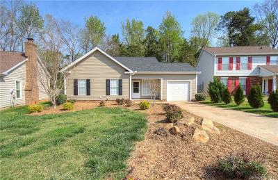 Pineville Single Family Home Under Contract-Show: 12116 Dolomite Drive