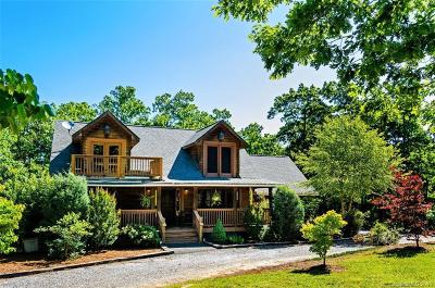 Bat Cave, Black Mountain, Chimney Rock, Lake Lure, Rutherfordton, Union Mills, Mill Spring, Columbus, Tryon, Saluda Single Family Home Under Contract-Show: 54 Silver Ridge Road