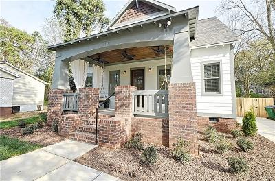 Charlotte Single Family Home Under Contract-Show: 110 N Gardner Avenue