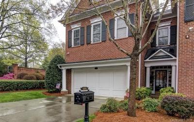 Charlotte NC Condo/Townhouse For Sale: $399,000