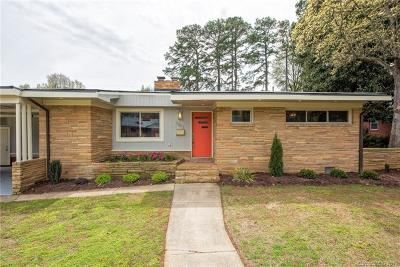 Charlotte Single Family Home For Sale: 1703 Madison Avenue