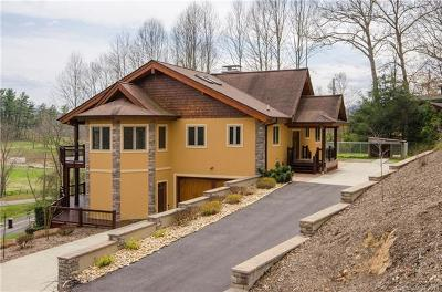 Waynesville Single Family Home For Sale: 65 Cansadie Top Road