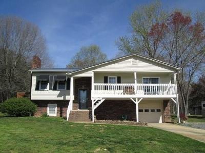 Caldwell County, Alexander County, Watauga County, Avery County, Ashe County, Burke County Single Family Home Under Contract-Show: 2424 Mt Herman Heights