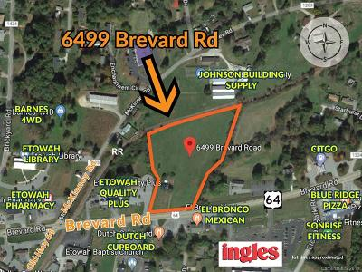 Residential Lots & Land For Sale: 6499 Brevard Road