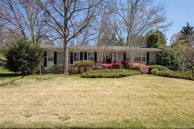 Brevard Single Family Home For Sale: 46 Far Hills Terrace #3