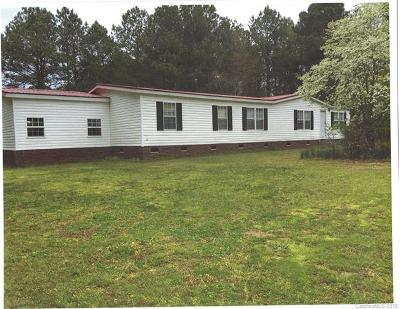 Anson County Single Family Home For Sale: 6752 Hwy 145 Highway