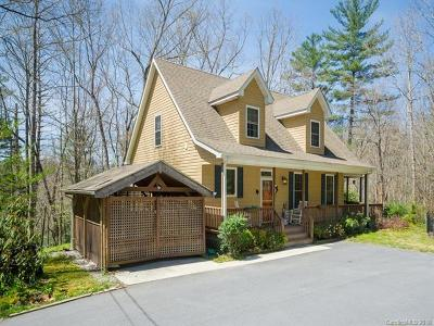 Hendersonville Single Family Home For Sale: 183 Jeter Mountain Road