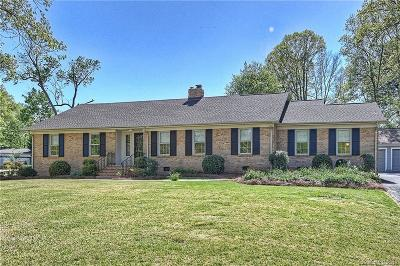 Charlotte Single Family Home For Sale: 5326 Doncaster Drive