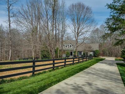 Waxhaw Single Family Home For Sale: 6800 Deer Creek Drive