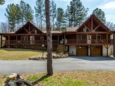 Bat Cave, Black Mountain, Chimney Rock, Lake Lure, Rutherfordton, Union Mills, Mill Spring, Columbus, Tryon, Saluda Single Family Home For Sale: 316 Black Rock Drive #38, 39