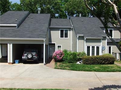 Cornelius Condo/Townhouse For Sale: 7527 Mariner Cove Drive