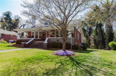 Alexander County, Caldwell County, Ashe County, Avery County, Watauga County, Burke County Single Family Home Under Contract-Show: 308 Rodoret Street N