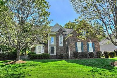 Charlotte Single Family Home For Sale: 3415 Twelve Oaks Place