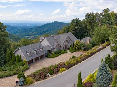 Asheville NC Single Family Home For Sale: $2,395,000