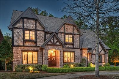 Charlotte NC Single Family Home For Sale: $1,899,000