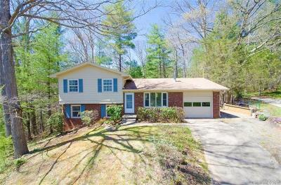 Asheville NC Single Family Home For Sale: $372,000